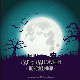Horror-Nacht-Hintergrund