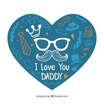 Ich liebe dich Papa