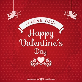 Ich liebe dich Valentinstag-Karte