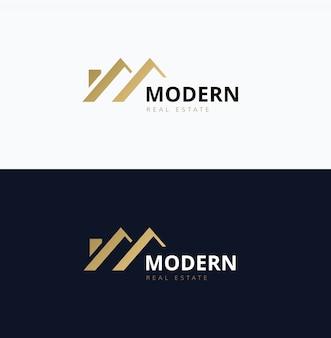 Immobilien-Logo, Home Care-Logo, Immobilien, Haus-Logo, Haus und Gebäude, Vektor-Logo-Vorlage