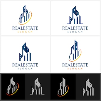 Immobilienlogo Design