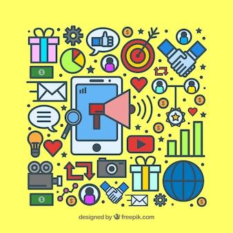 Influencer-Marketing-Objekte