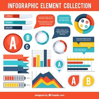 Infografische Element-Sammlung
