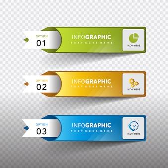 Infografische Vorlagen Sammlung