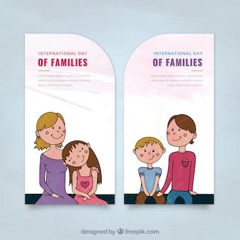 Internationale Familie Tageskarte
