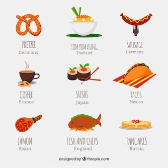 Internationale Lebensmittel
