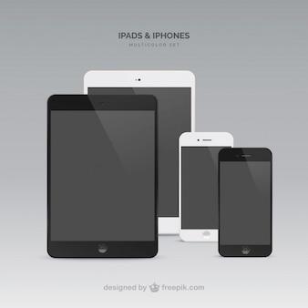 Ipads mini one in schwarz andere in weiß