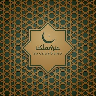 Islamische Muster Hintergrund