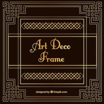 Jahrgang dekorativen Art-Deco-Rahmen