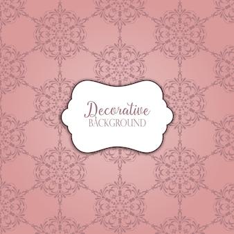 Jahrgang Hintergrund mit einem dekorativen Muster Design