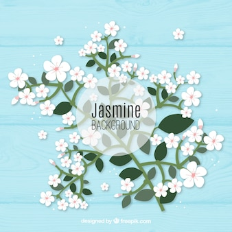 Jasmin Hintergrund mit eleganten Stil