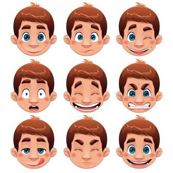Junge Gesichter Sammlung