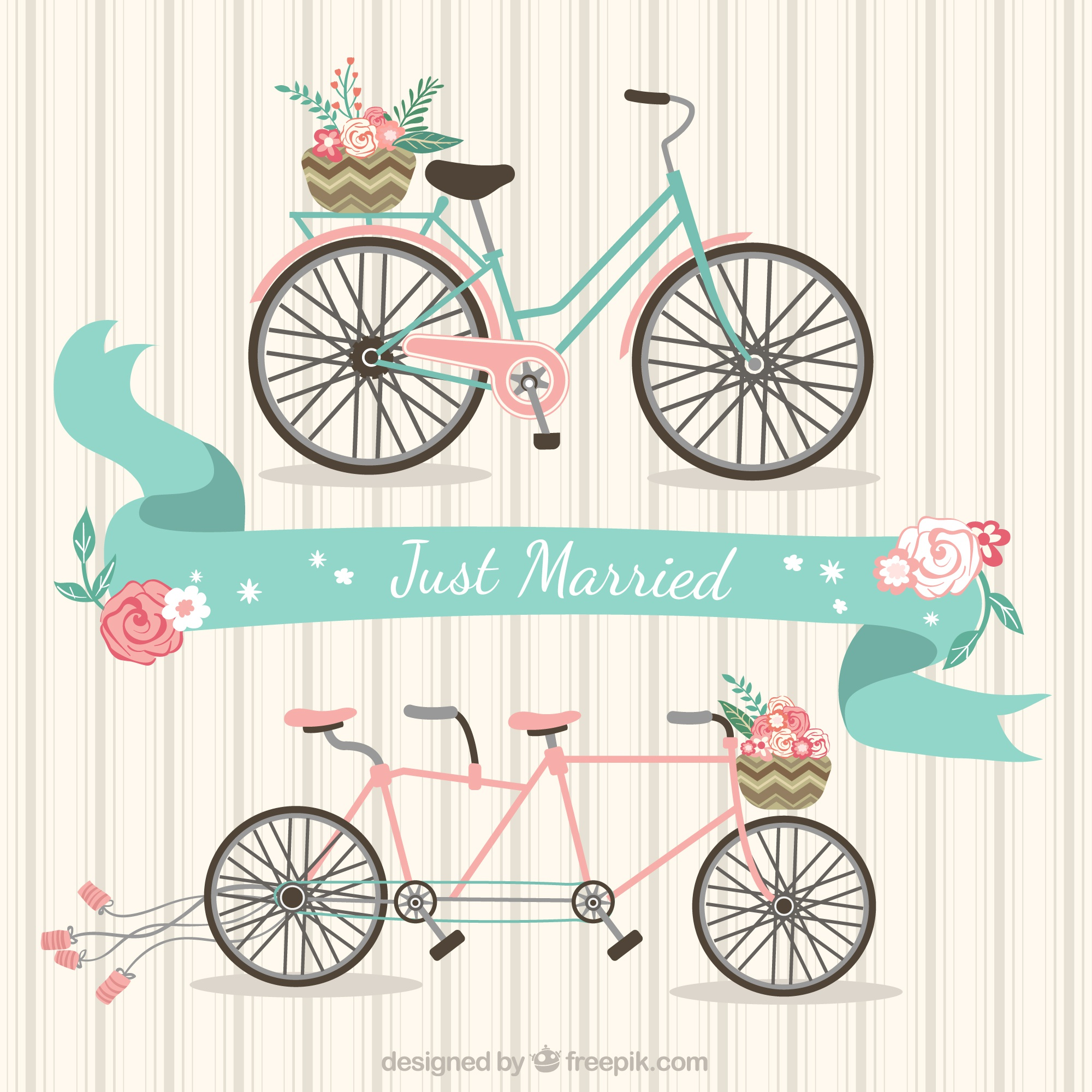 Just married Bikes