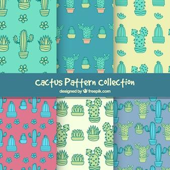 Kaktusmuster-Set