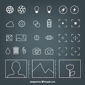 Kamerasymbole