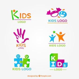 Kid-Logo-Sammlung