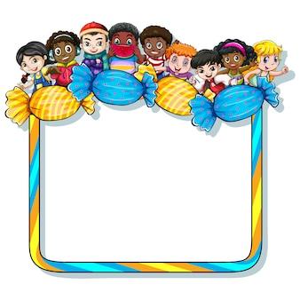 Kinder-Rahmen-Design