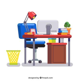 Klassisches Workspace-Hintergrunddesign