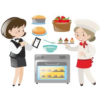 Kochen Elemente Sammlung
