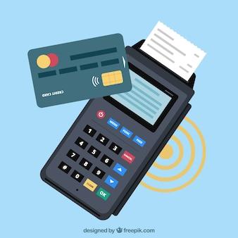 Kontaktlose Zahlung mit elegantem Stil
