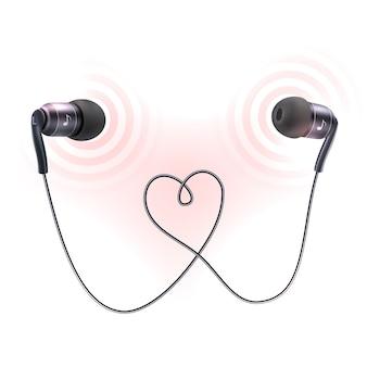 Kopfhörer Ohrstöpsel Poster