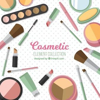Kosmetik Ausrüstung Hintergrund