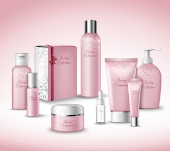 Kosmetik-Kollektion