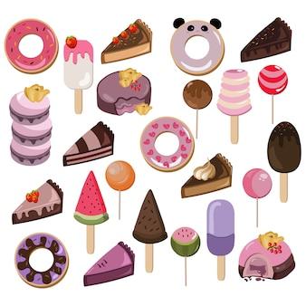 Köstliche Dessertkollektion