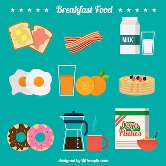 Köstliche Zutaten für breafast