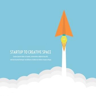 Kreative Raum Hintergrund