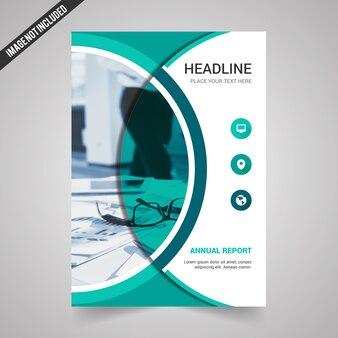 Kreativer Jahresbericht Deckblatt