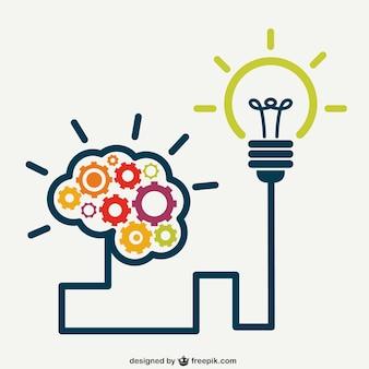 Kreatives Gehirn