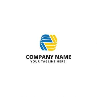 Kredit Netzwerk Logo-Vorlage