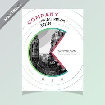 Kreis Jahresbericht Design