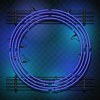 Kreis mit Lichter