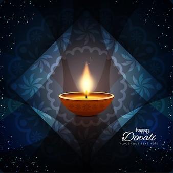 Künstlerische glücklich Diwai Hintergrund-Design
