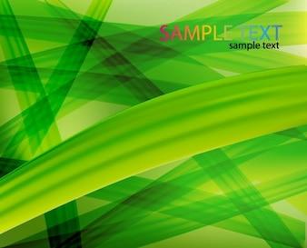 Künstlerische Technik in grünem Hintergrund Vektor-Grafik