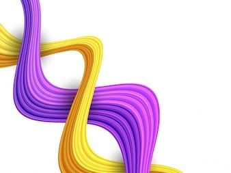Kunstmuster Zusammensetzung trendy lila