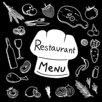 Lebensmittel-Elemente-Sammlung