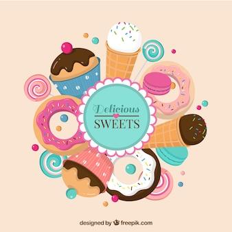 Leckere Süßigkeiten
