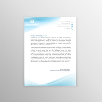 Letterhead Template-Design