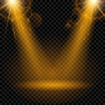 Lichteffekt Scheinwerfer