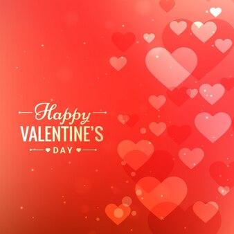 Liebe Hintergrund mit Herzen