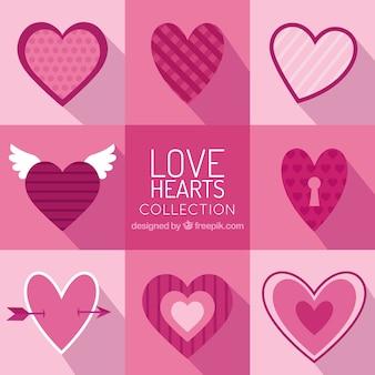 Liebes-Herz-Sammlung