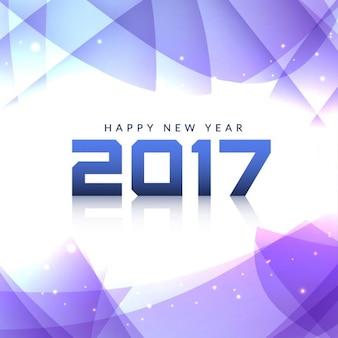 Lila polygonal Hintergrund für neues Jahr
