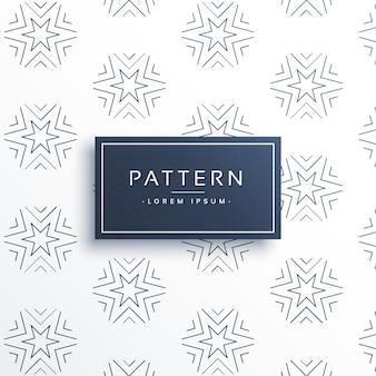 Line Sternmuster Hintergrund Design