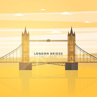 Lodon Brücke Hintergrund