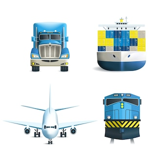 Logistische Icons Set