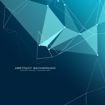 Low-Poly-Technologie Hintergrund-Design