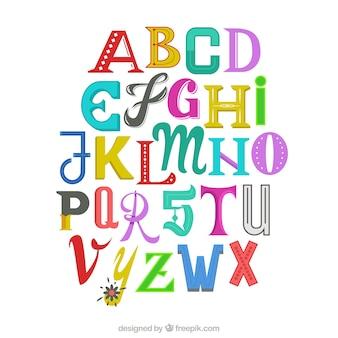 Lustige Alphabet